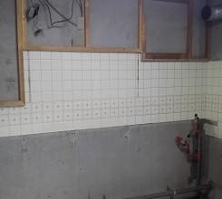 キッチン解体。