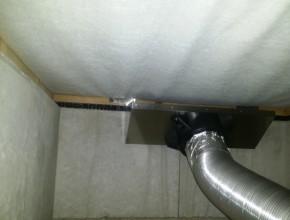 床下用換気ファン設置工事(足立区)