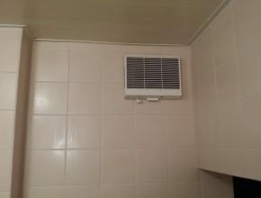 浴室換気扇交換工事 (松戸市)