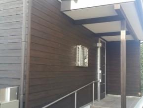 外壁木部再塗装工事 (船橋市)